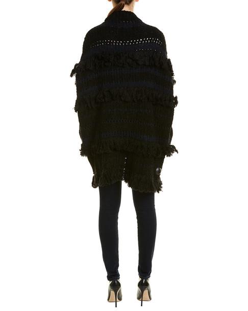 Zadig & Voltaire Pixy Franges Deluxe Wool-Blend Cardigan~1411394421