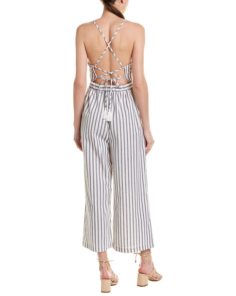 Flying Tomato Striped Jumpsuit~1411402128
