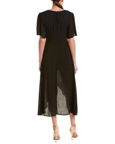Double Zero Polka Dot Maxi Dress~1411573914