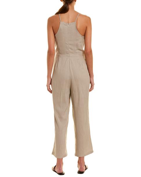 Very J Tie-Front Jumpsuit~1411684200