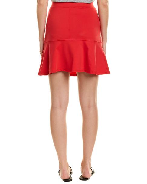 David Lerner Fluted Skirt~1411871196