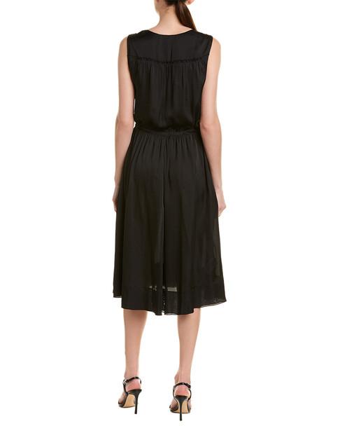 BCBGMAXAZRIA Drawstring A-Line Dress~1411978233