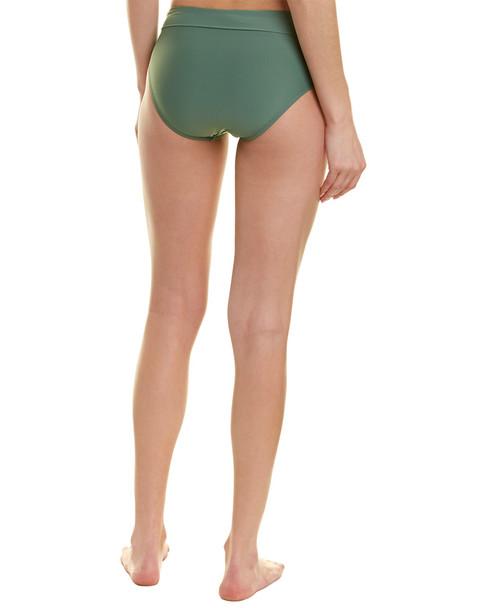 Athena Solid Mid-Waist Bikini Bottom~1411998074