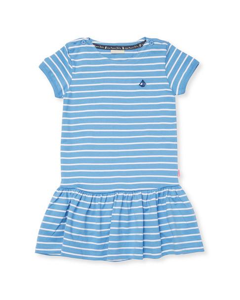 JoJo Maman Bebe Nautical Stripe Dress~1511900838