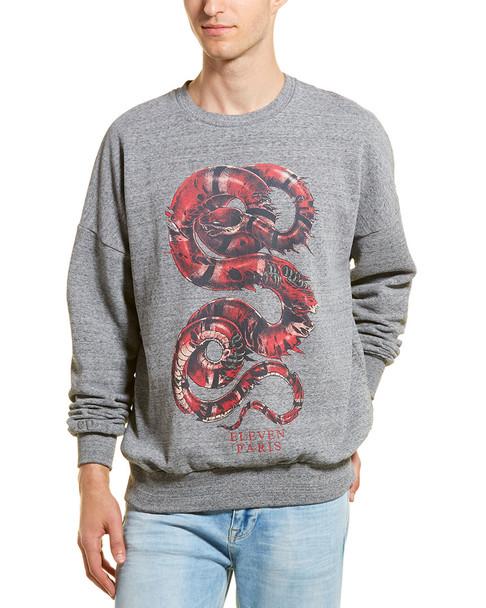 Eleven Paris Graphic Fleece Pullover~1010236914