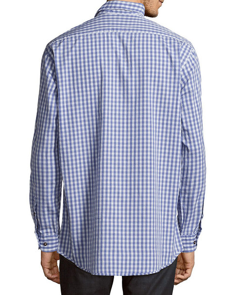 Regular-Fit Gingham Cotton Sportshirt~1010928458