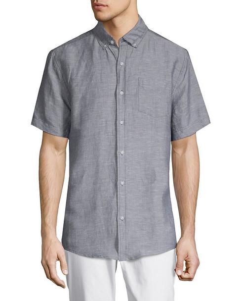Point Collar Short Sleeve Shirt~1010958347