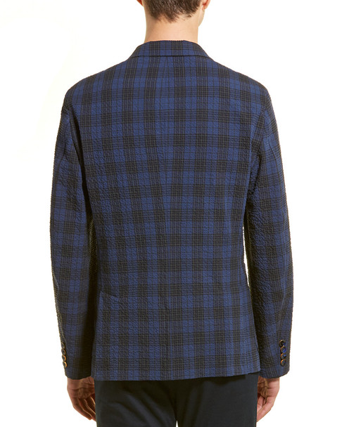 Hickey Freeman Plaid Jacket~1011229227