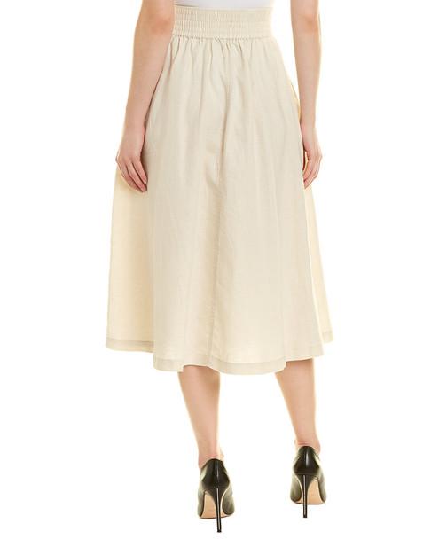 Donna Karan Linen Skirt~1050728985