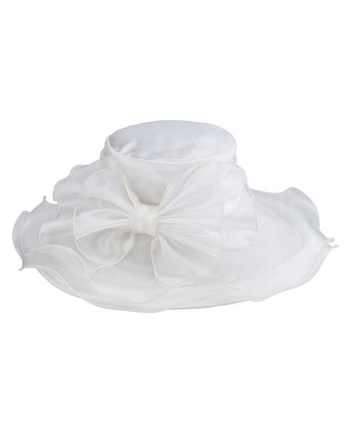 San Diego Hat Company Women's Organza Bow Hat~11716454580000