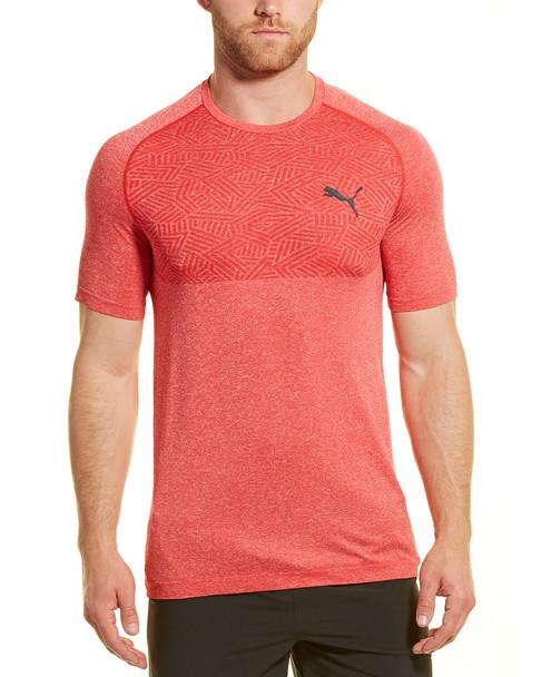 PUMA TEC  Slim  Fit Sports Evo Knit T-Shirt~1211232980