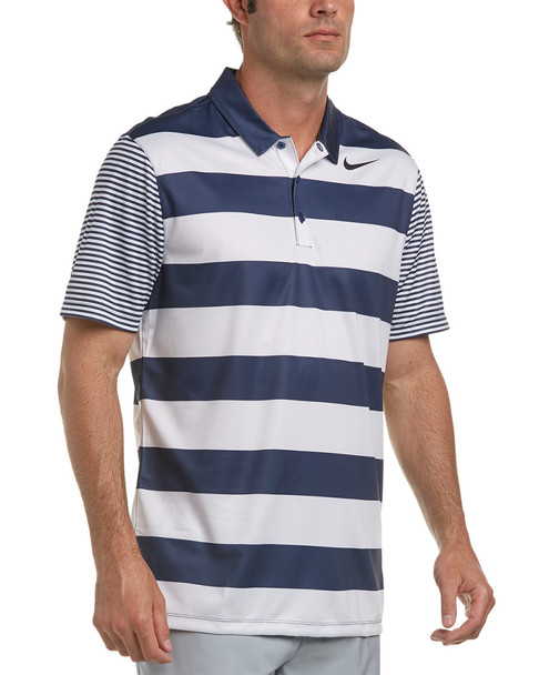 Nike Golf Dri-Fit Bold Stripe Polo~1222443924