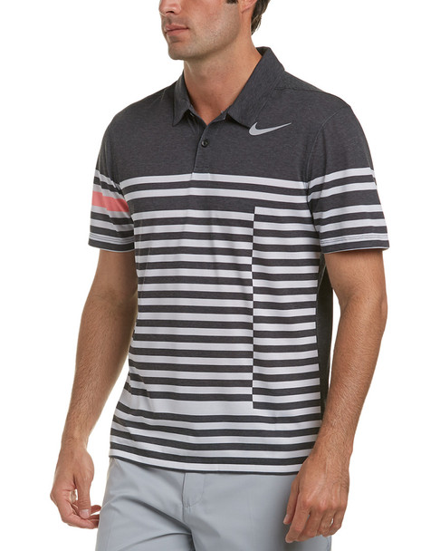 Nike Golf Dri-Fit Striped Polo~1222443926