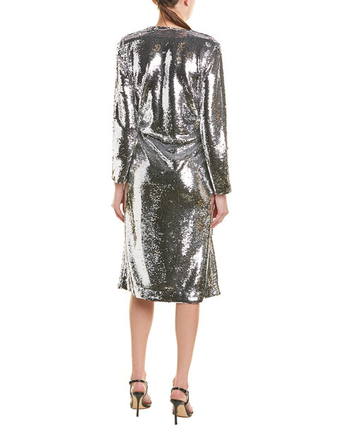 GANNI Sonora Wrap Dress~1411117767