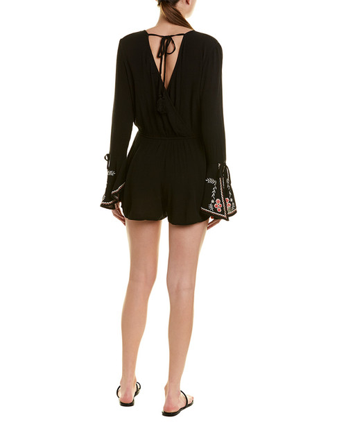 Band of Gypsies Embroidered Romper~1411202036