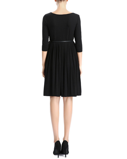 kimi + kai Maternity Shannon Pleated Midi Dress~1411881493