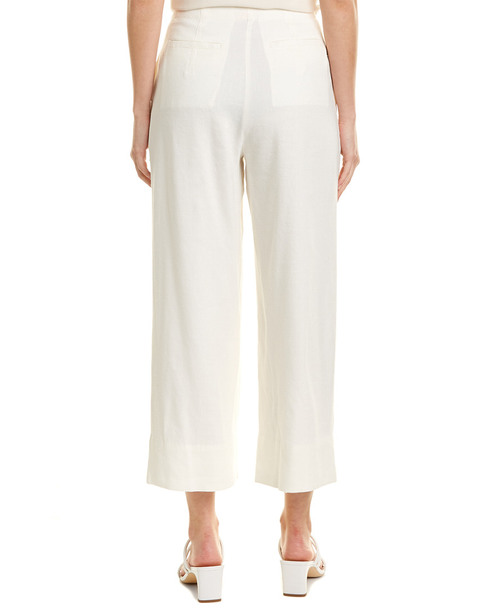 Rebecca Taylor Stretch Linen-Blend Pant~1411964263