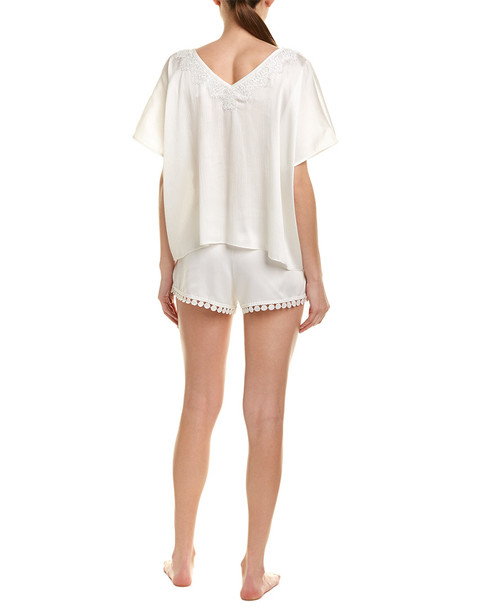 Flora Nikrooz 2pc Pajama Short Set~1412247597