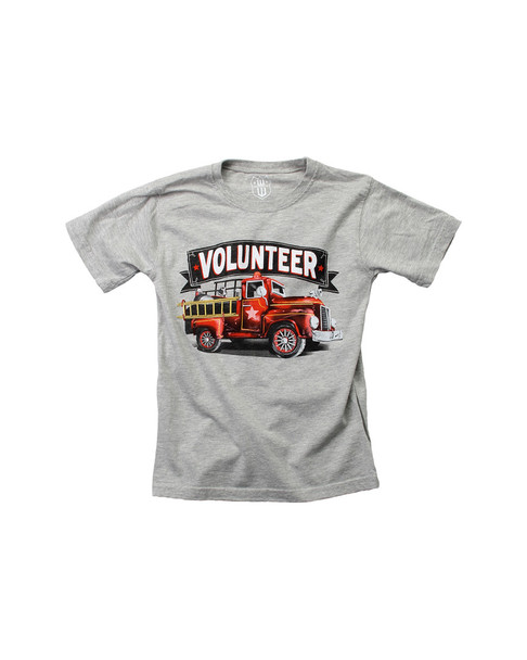 Wes Willy Volunterr Firefighter T-Shirt~1511052894