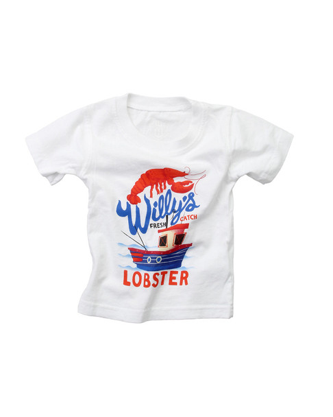 Wes Willy Willy's Lobster T-Shirt~1511052944