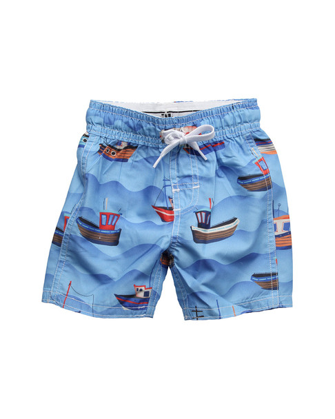 Wes Willy Fishing Boats Swim Trunk~1511052945