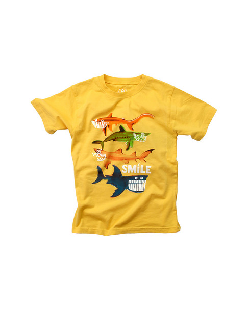 Wes Willy Smiling Sharks T-Shirt~1511052946