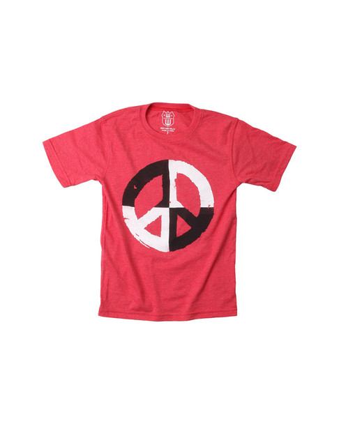 Wes Willy Peace Sign T-Shirt~1511052948
