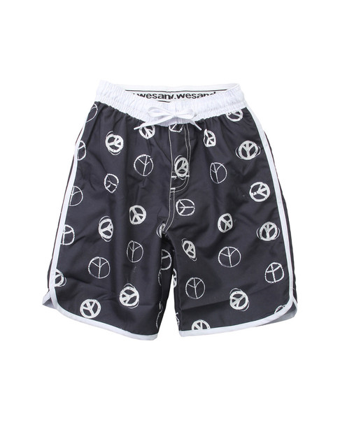 Wes Willy Peace Signs Swim Trunk~1511052949