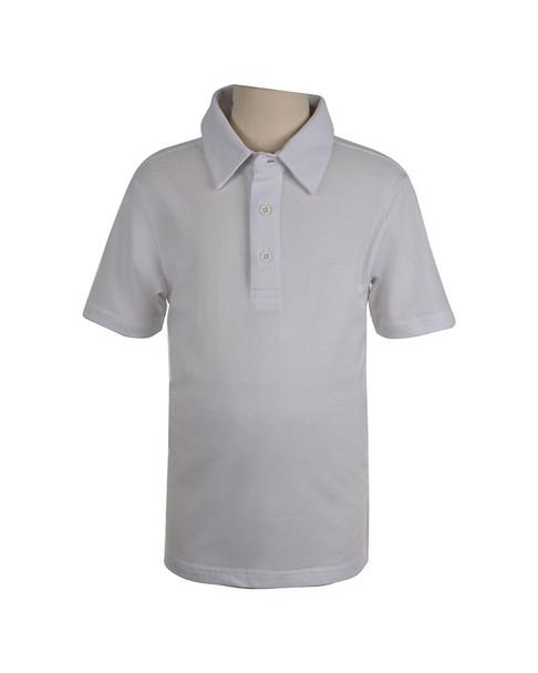 E-Land Kids Pique Solid Polo Shirt~1511082219