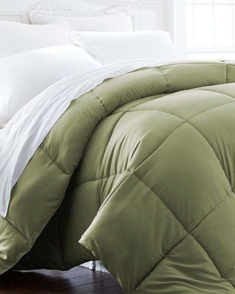 I Enjoy Home Down Alternative Comforter Sage~3030600148