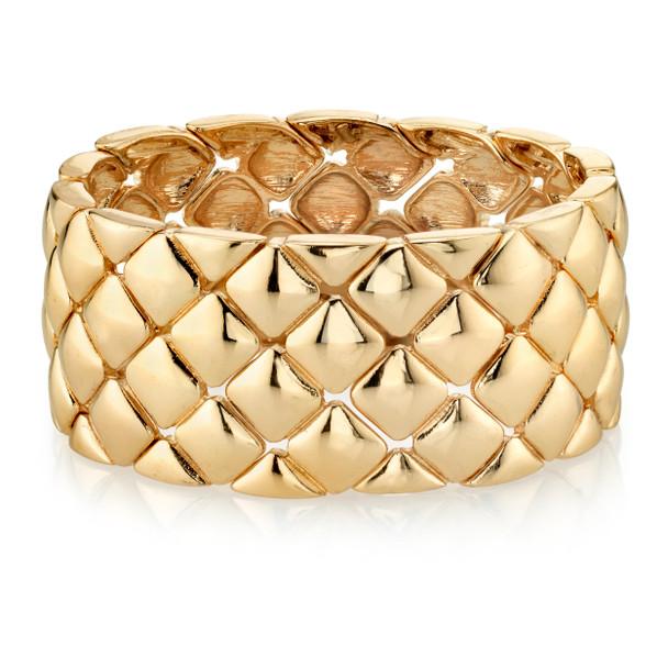 Gold-Tone Stretch Bracelet~61900