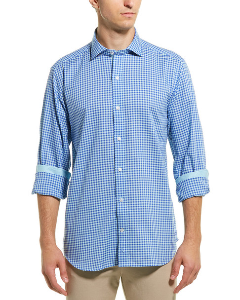 TailorByrd Gingham Woven Shirt~1010263239
