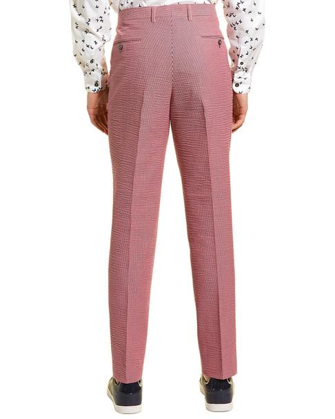 Paisley & Gray Downing Slim Fit Seersucker Pant~1011254558