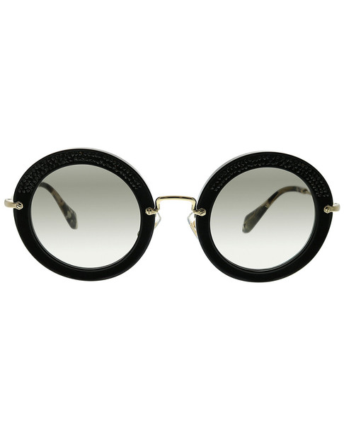 Miu Miu Women's Round 49mm Sunglasses~11111809510000