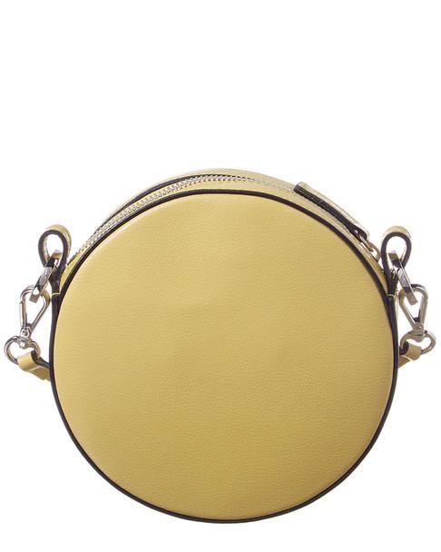 Valentino by Mario Valentino Henriette Madras Leather Circle Crossbody~11600277450000