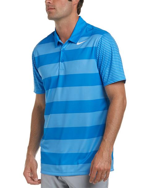 Nike Golf Dri-Fit Bold Stripe Polo~1222443923