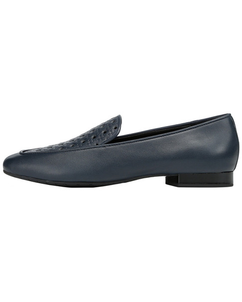 Donald Pliner Honey Leather Loafer~1311943882