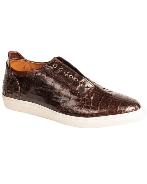 Mezlan Emmanuel Crocodile Leather Sneaker~1312264492
