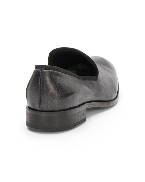 Richards Paisley Print Leather Slip-On~1312970893