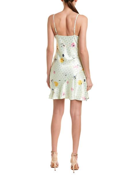 Lea & Viola Jacquared Mini Dress~1411195970