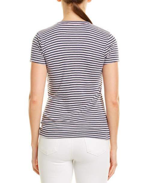 Three Dots Hampton Stripe T-Shirt~1411218127