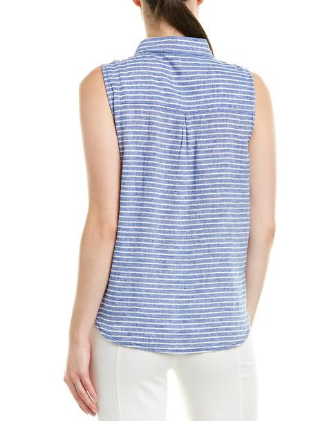 beachlunchlounge Linen-Blend Shirt~1411224739