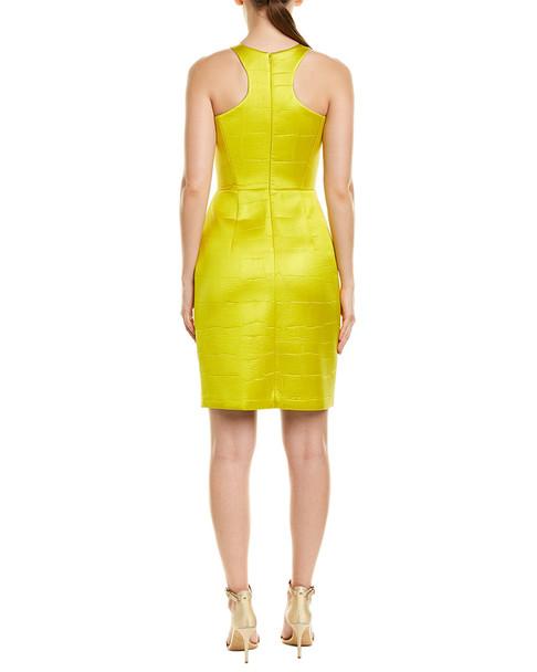 Milly Croc-Embossed Sheath Dress~1411249063