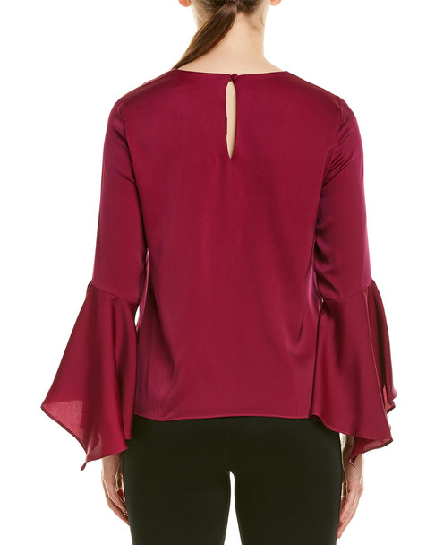 Milly Holly Silk-Blend Top~1411249069