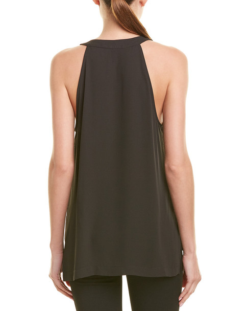 BCBGMAXAZRIA Lace-Up Blouse~1411254995