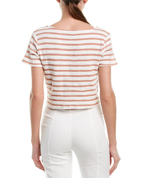 Lumiere Tie Front Top~1411257151