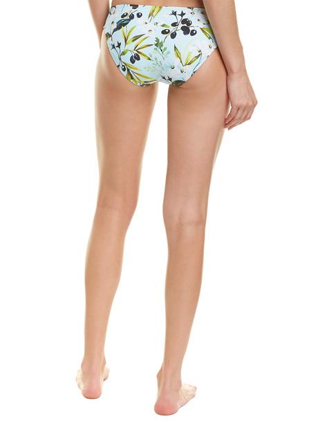 La Blanca Martini Shirred Bikini Bottom~1411261259