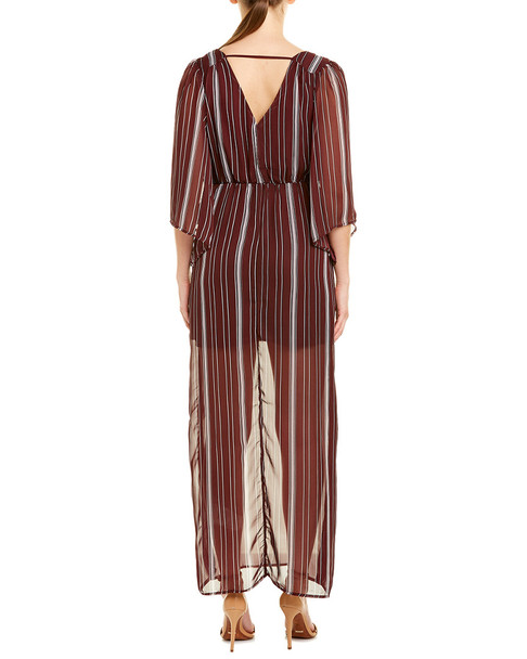 Bailey Blue Kimono Maxi Dress~1411262344