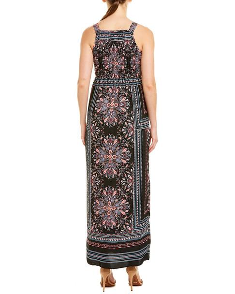 Bailey Blue Smocked Maxi Dress~1411262357