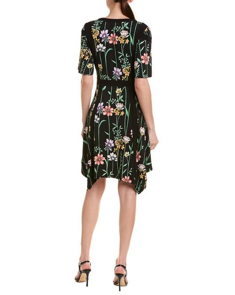 BCBGMAXAZRIA Crossover A-Line Dress~1411345396